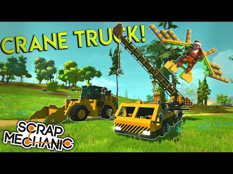EPIC PISTON CRANE TRUCK, WING SUIT and MORE! - Scrap Mechani