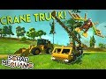 EPIC PISTON CRANE TRUCK, WING SUIT and MORE! - Scrap Mechanic Creations Gameplay (Discord Contest)