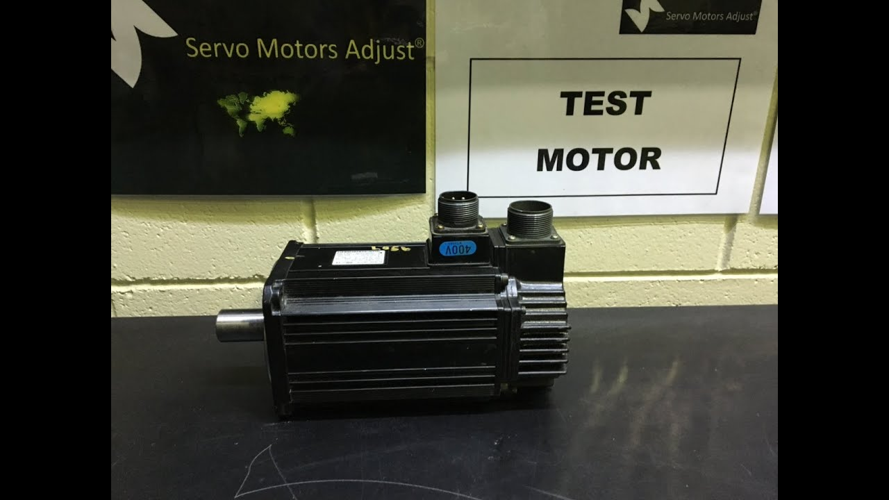 Yaskawa ac servo motor type sgmsh 20dca6f oy servo motor for How to check ac motor