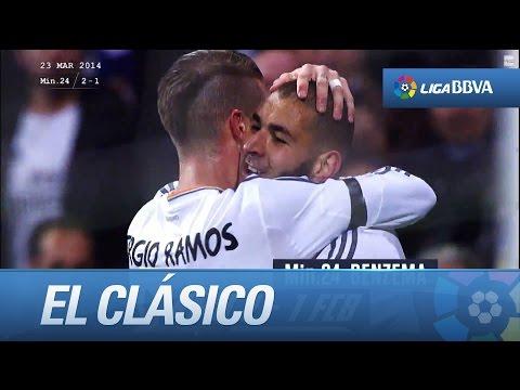 Real Madrid vs FC Barcelona 13/14: Un clásico de Película