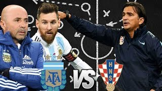 HOW ARGENTINA CAN BEAT CROATIA | World Cup 2018, Group D