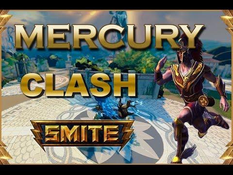 SMITE! Mercury, Puñetazos = diversion sin limite (solo en smite)! Clash #2