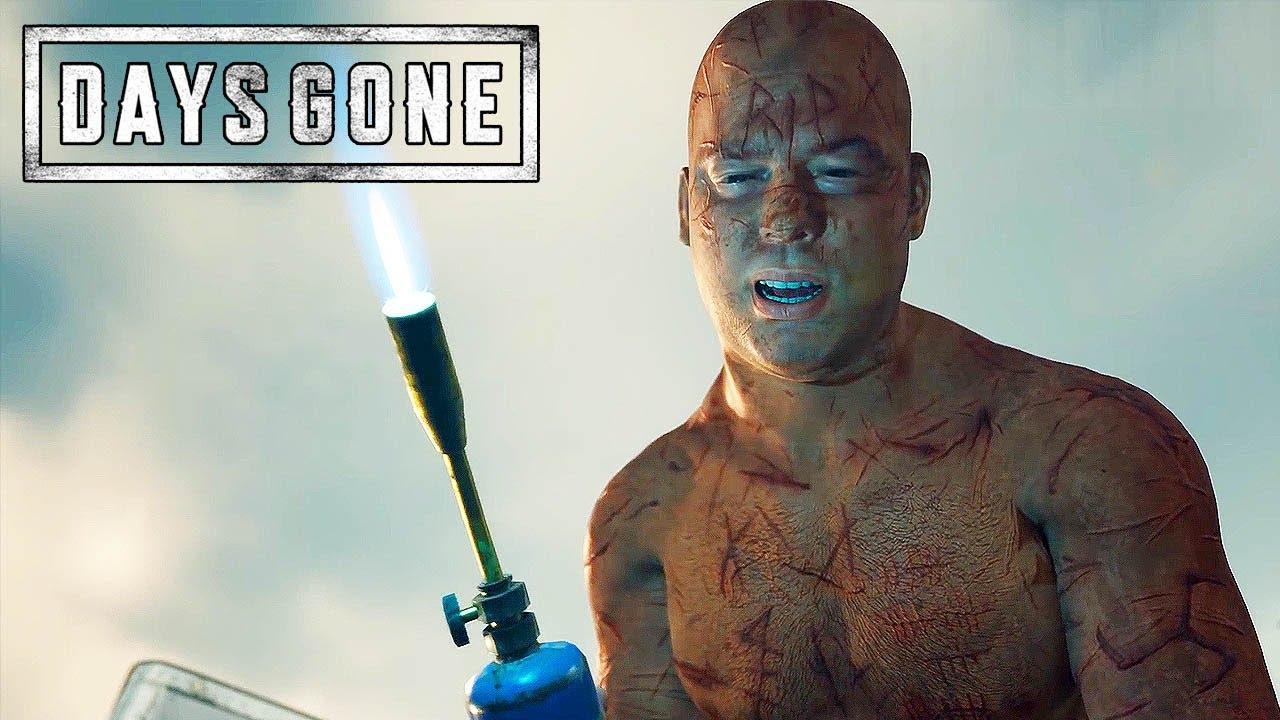 DAYS GONE (PS4) - E3 2018 Gameplay Walkthrough @ 1080p HD ✔