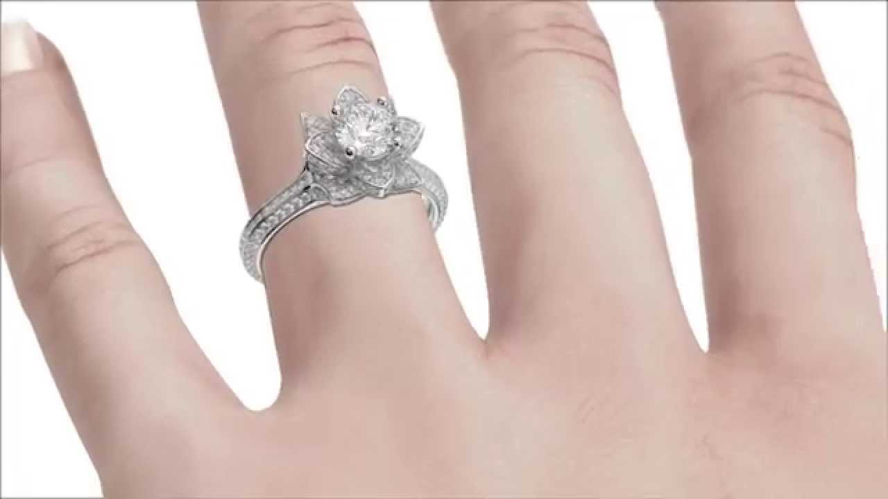 Ring On Hand 3d Animation HD - YouTube