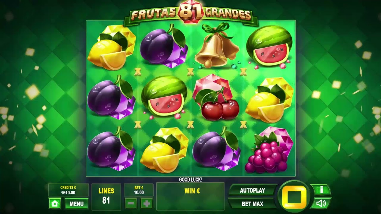 81 Frutas Grandes Slot Play Free ▷ RTP 95.1% & Medium Volatility video preview
