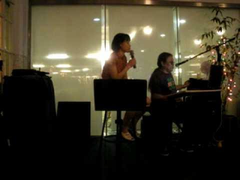Park Bok Sun singing - The rose (cover).wmv