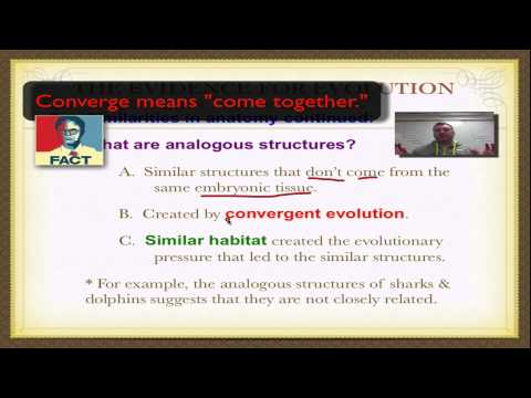 Chapter 16 Part 5 - Evidence for Evolution by Natural Selection