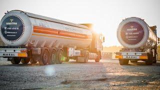 видео Перевозка опасных грузов быстро и надежно