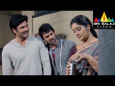 Mirchi Movie Prabhas with Subbaraju's Family   Prabhas, Anushka, Richa   Sri Balaji Video