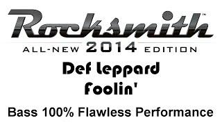 """Def Leppard """"Foolin"""