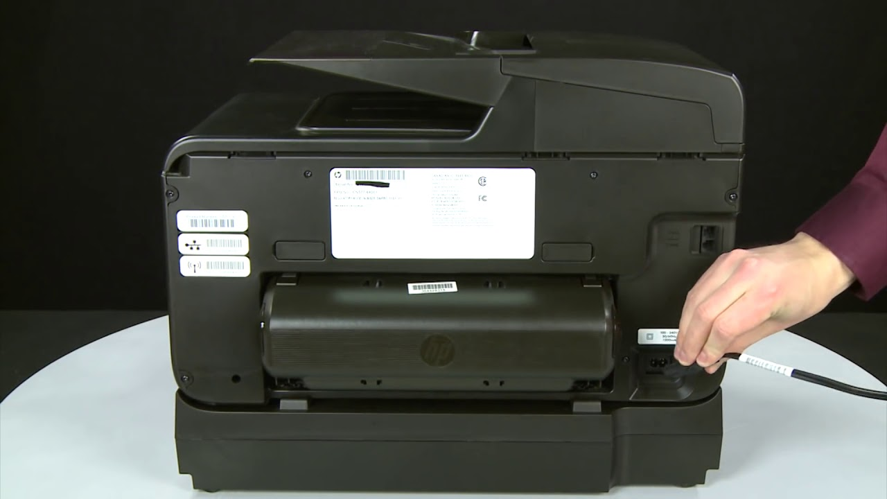 Fixing a Paper Jam HP Officejet Pro 8600 e All in One Printer HP