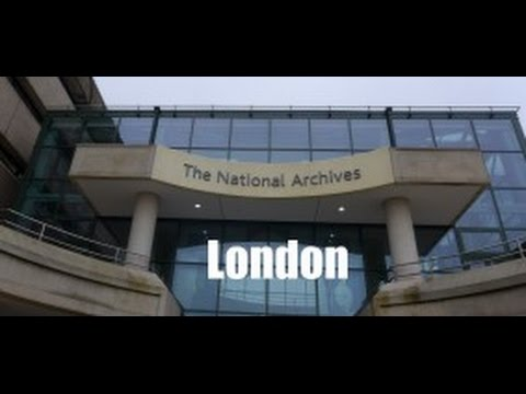THE UK NATIONAL ARCHIVES London Kew