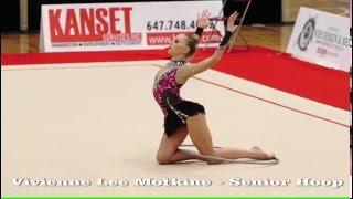 Trillium Rhythmic - Vivienne Lee Motkine - Senior Hoop - Salut Cup 2016