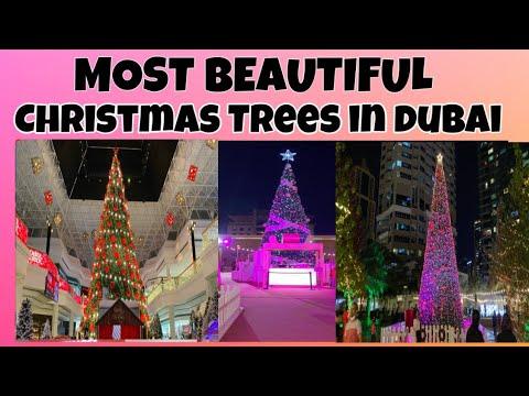 MOST BEAUTIFUL CHRISTMAS TREES IN DUBAI/ Dubai Christmas 2020