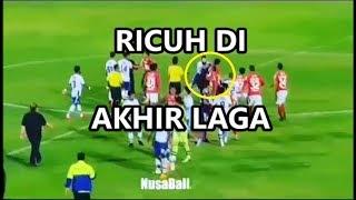 Bali Utd vs Persib ||| Video RI CUH Usai Laga, Pemain Saling JAMBAK & BAN TING