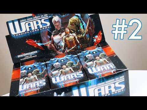 Incursion Booster Box Wars Trading Card Game