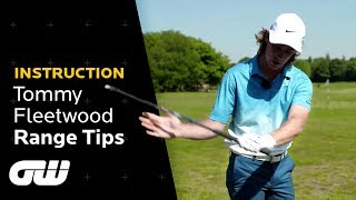 Fixing Slices and Hooks on the Range | Tommy Fleetwood