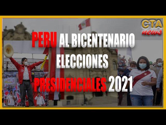 🇵🇪 PERU ELECCIONES 2021: Pedro Castillo vs Keiko Fujimori [ 🗳 06 de Junio TU DECIDES ]