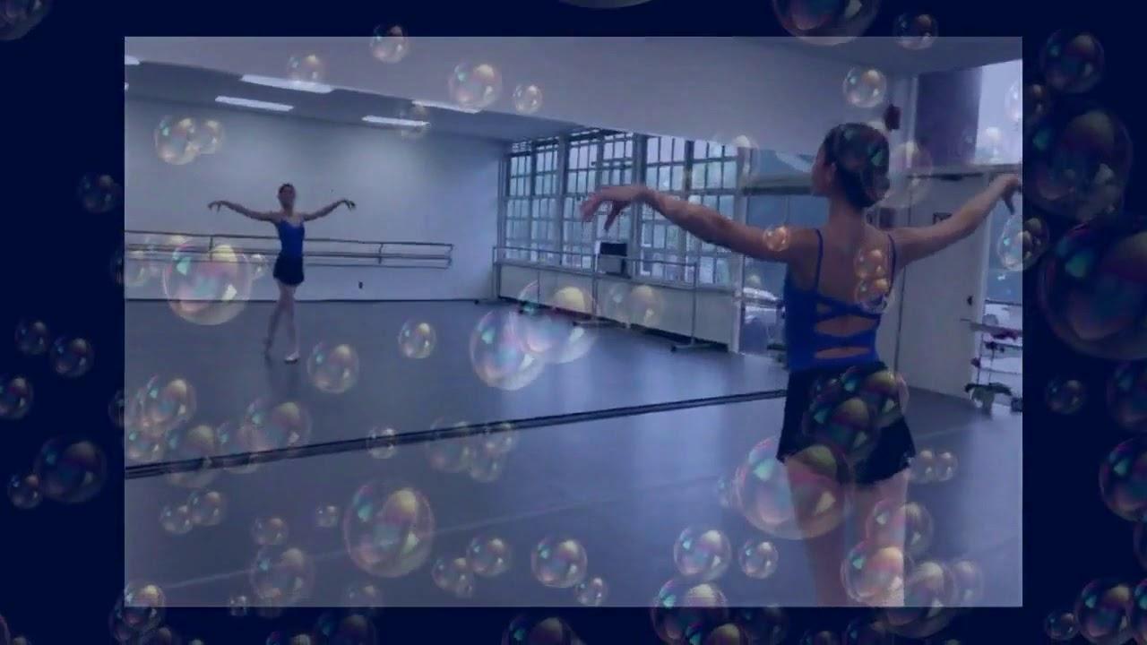 Katherine Healy ballet rehearsal baby shark dance practice
