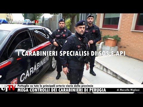 Nuovi dispositivi antiterrorismo Carabinieri Perugia intervista Col. Cosimo Fiore