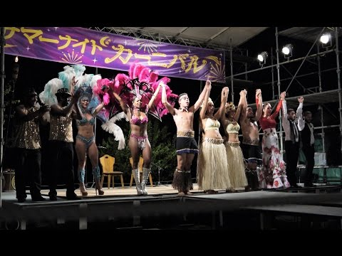 Summer Night Show. Flamenco.tahitian.samba in Littleworld,