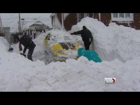 Global National - Blizzard Slams Newfoundland