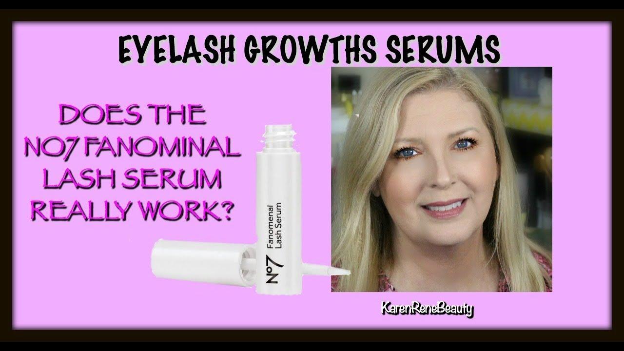 Eyelash Growth Serums Does The No7 Fanominal Lash Serum Really