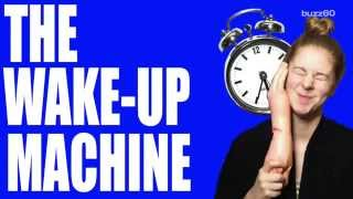 This alarm clock will literally slap you in the face
