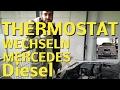 Mercedes w202 c200 cdi thermostat tauschen erneuern c220 cdi diesel motor