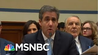 WSJ: Former Donald Trump Fixer Cohen Walked Back Parts Of His Guilty Plea | The 11th Hour | MSNBC
