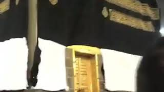 thunderstorms ripped k'aba clothesin Saudi Arabia during Hajj 2018.
