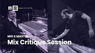 Mix Critique Session