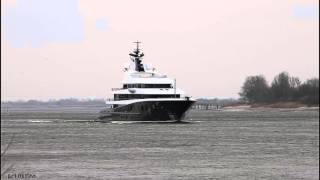 Mega Yacht PHOENIX 2   Weser höhe Brake Unterweser