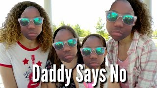Reacting to Haschak Sisters Daddy Says No!
