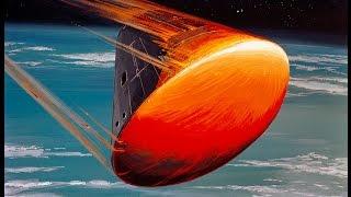 Nasa Apollo Command Module Re-Entry and parachutes explained.