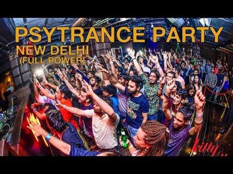 psychedelic trance party 2018 (FULL POWER) | New Delhi | DJ Tristen