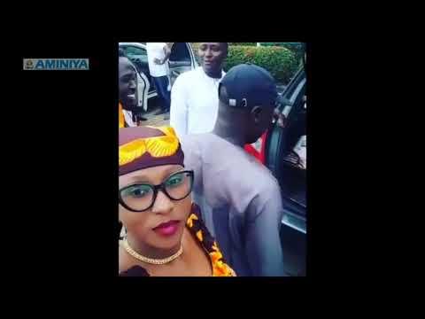 Sadiya Kabala da Adam A. Zango sunyi  Selfie bidiyo