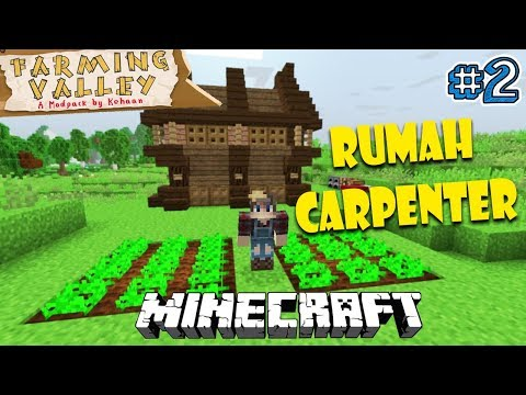 SUMPAH MIRIP HARVEST MOON BANGET - Minecraft Farming Valley Indonesia #2