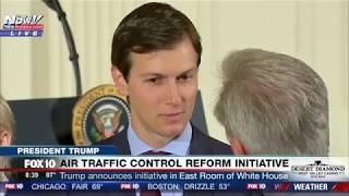 SPOTTED: Jared Kushner in East Room of White House Before President Trump Speech (FNN)