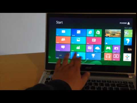 Acer Aspire V5-431P Laptop Touch Screen Windows 8 System Review