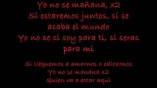 Luis Enrique - Yo no se mañana