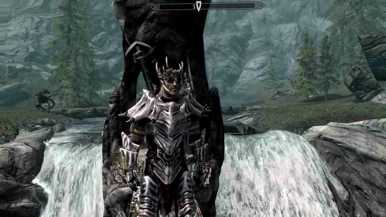 skyrim how to train your dragon amror