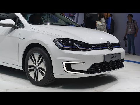 Electric Volkswagen e-Golf 2017 !! Legend with electrical engine!!