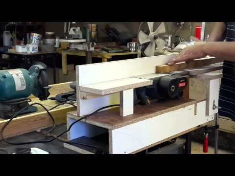 how to make home made thicknesser