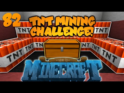 How To Minecraft | #82 | TNT BLAST MINING CHALLENGE! | DinnerBONED (How To Minecraft SMP)