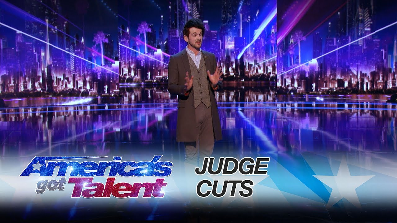 Americas got talent 2017 mind reader - Colin Cloud Mind Reader Amazes Mel B And Howie Mandel America S Got Talent 2017