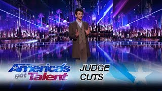 Colin Cloud: Mind Reader Amazes Mel B and Howie Mandel - America's Got Talent 2017 by : America's Got Talent