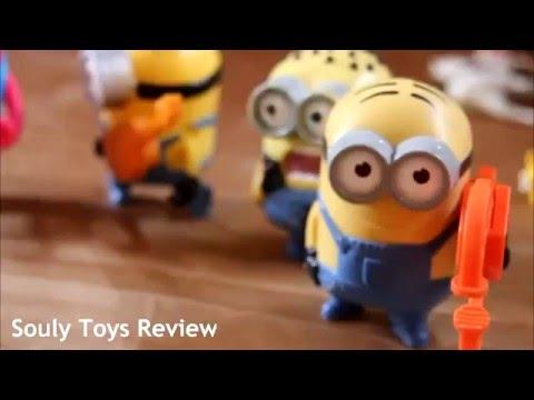 Minions Octopus Toys ,Carl ,Kevin, Phil ,Jerry ,Stuart ...