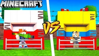 BAZA POLSKA VS BAZA KOLUMBIA - MINECRAFT | Vito vs Bella