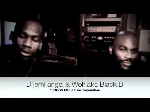 interview surprise  wolf et d'jemi angel by snake la fouine à l'usine studio